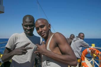 Portrait of a fleeing- Amadu 2